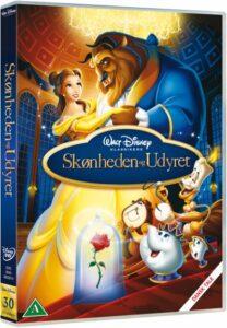 Skønheden og udyret dvd disney klassiker nr. 30 208x300 - Disney klassikere liste