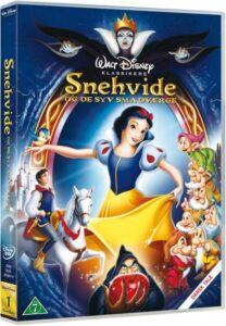 Snehvide og de syv små dværge dvd 208x300 - Disney klassikere liste