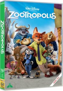 Zootropolis disney dvd disney klassiker 54 208x300 - Disney klassikere liste