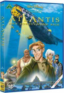 atlantis det forsvundne rige dvd disney klassikere 207x300 - Disney klassikere liste