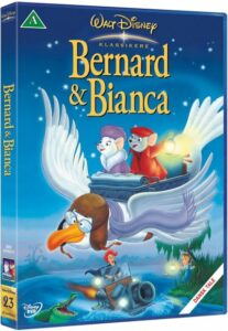bernard og bianca disney klassiker 23 207x300 - Disney klassikere liste