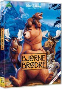 bjørne brødre dvd disney klassiker 208x300 - Disney klassikere liste