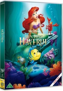 den lille havfrue dvd disney klassiker 28 208x300 - Disney klassikere liste