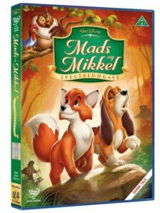 mads og mikkel dvd disney klassiker 225x300 - Disney klassikere liste