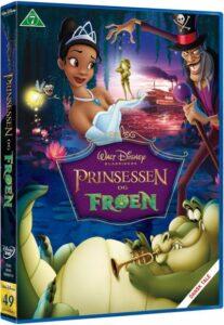 prinsessen og froeen disney dvd 207x300 - Disney klassikere liste