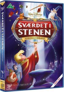 sværdet i stenen dvd disney klassiker nr. 18 209x300 - Disney klassikere liste