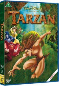 tarzan dvd disney klassikere 207x300 - Disney klassikere liste