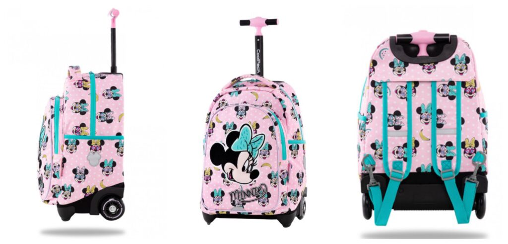 Coolpack minnie mouse trolley 1024x491 - Minnie Mouse skoletasker