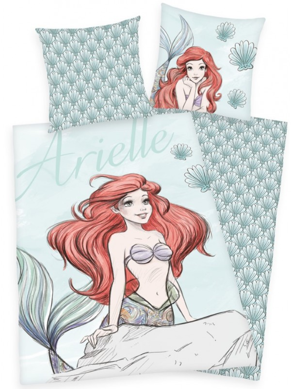 Disney Ariel sengetøj - Disney prinsesser sengetøj