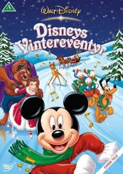 Disneys vintereventyr juledvd - Disney julefilm