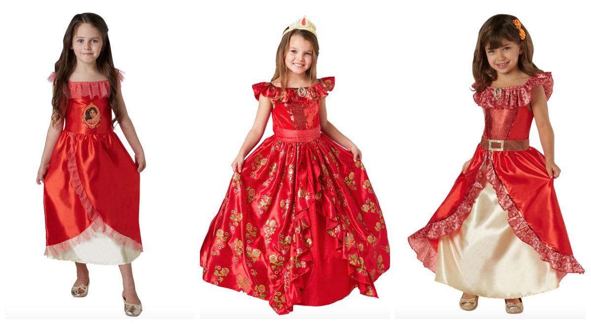 collage 1 - Disney prinsesse kostume til børn