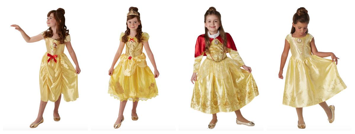 collage 3 - Disney prinsesse kostume til børn