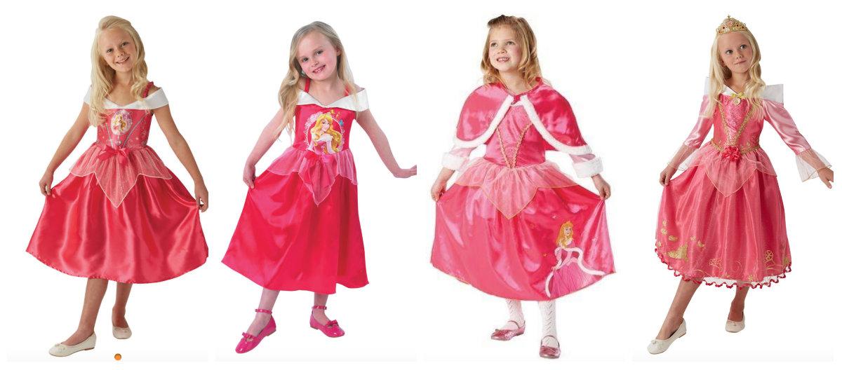collage 6 - Disney prinsesse kostume til børn