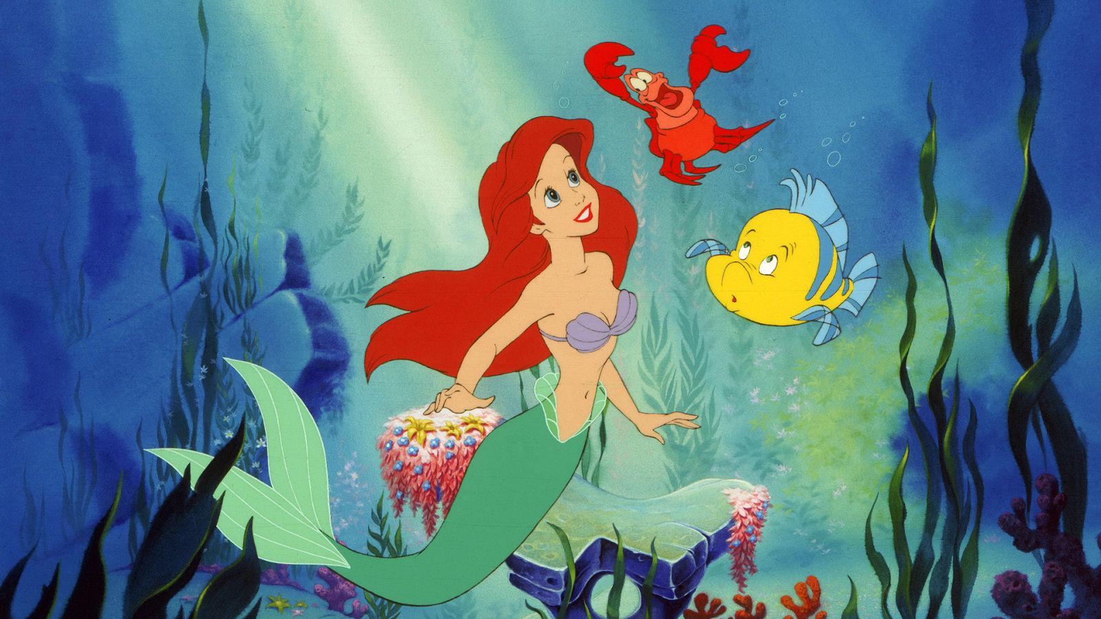 Den lille havfrue dvd