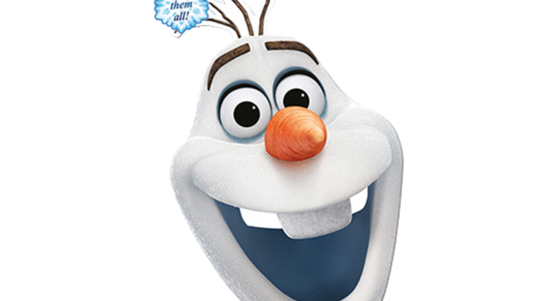 Disney frost papmaske