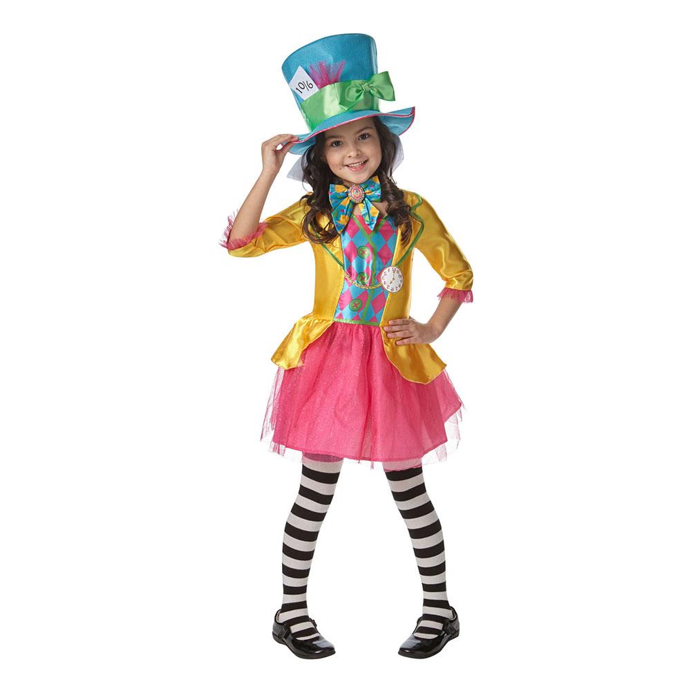 mad hatter kostume til børn - Alice i Eventyrland kostume til børn