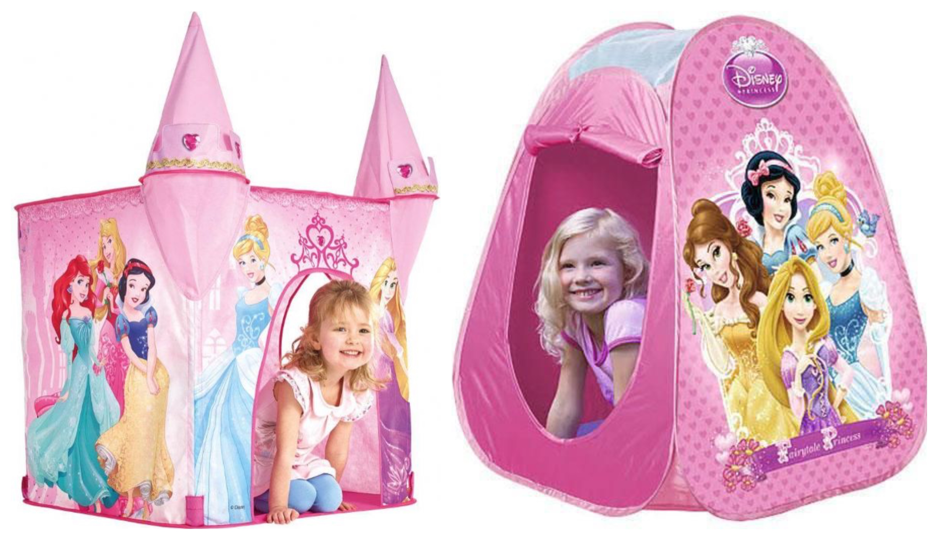 Disney prinsesse legetelt