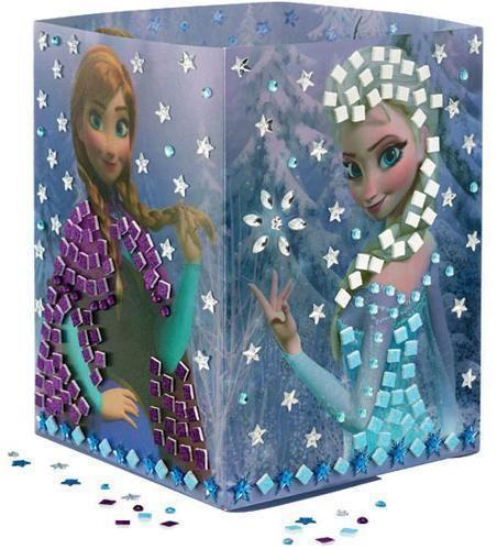 Frost lampe diy - Frost natlampe til frost prinsessen