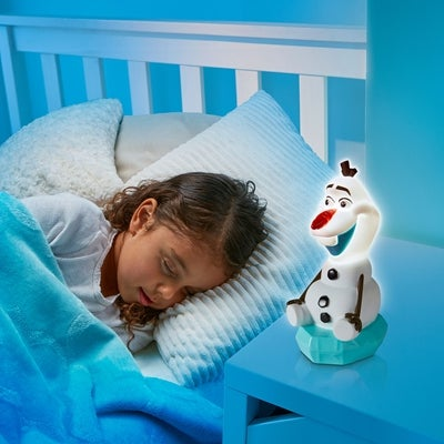 Olaf natlampe - Frost natlampe til frost prinsessen