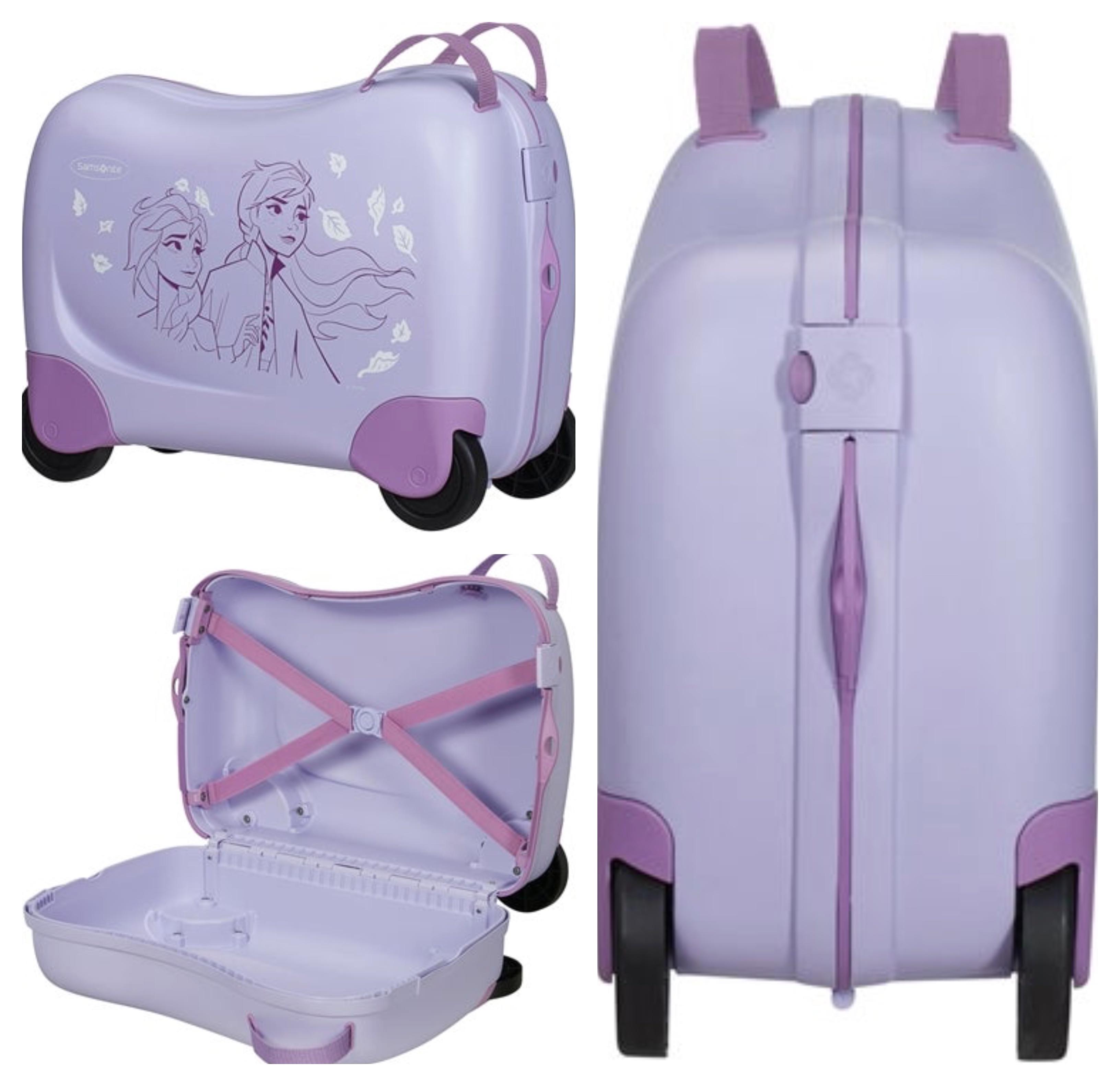 Disney Frost trolley samsonite - Frost kuffert - tag Anna og Elsa med på rejsen