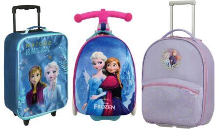 Frost kuffert til børn, Frozen kuffert til børn, frost 2 trolley til børn, frozen 2 trolley til børn, frost kufferter, frozen kufferter, frost 2 børnekuffert, frozen 2 børnekuffert, kuffert med frost motiv, trolley med frost motiv
