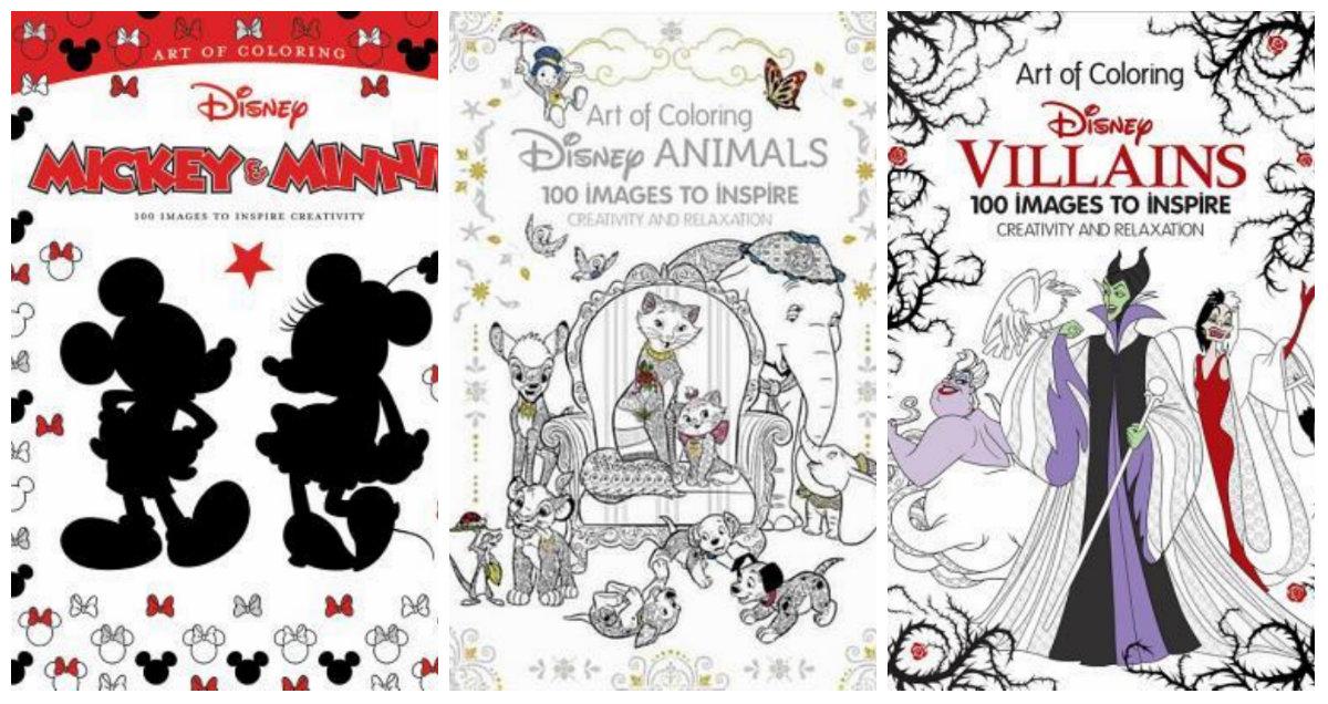 Disney malebog til voksne