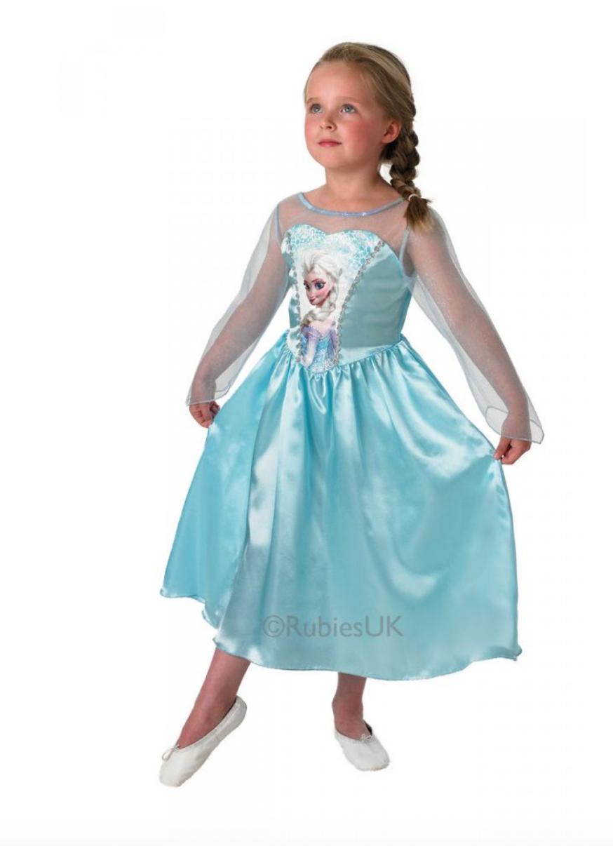 Skærmbillede 2017 10 28 kl. 09.30.15 - Disney prinsesse kostume til børn