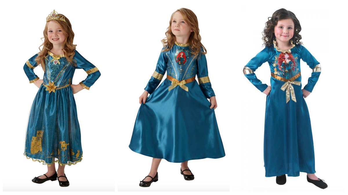 Merida kostume til børn