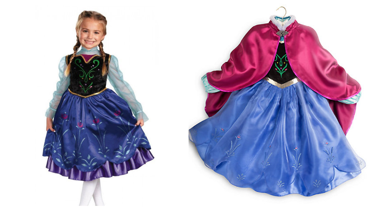 Splinternye anna-kostume-til-børn - Alletiders Disney IA-78