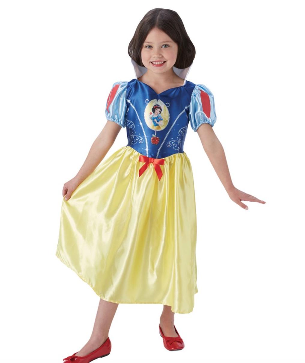 Skærmbillede 2018 09 30 kl. 12.52.46 - Disney prinsesse kostume til børn