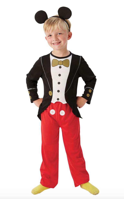 Skærmbillede 2018 12 10 kl. 19.23.43 - Mickey mouse kostume til børn