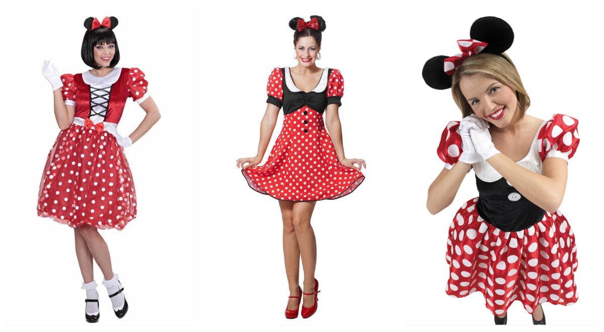 Minnie Mouse kostume til voksne