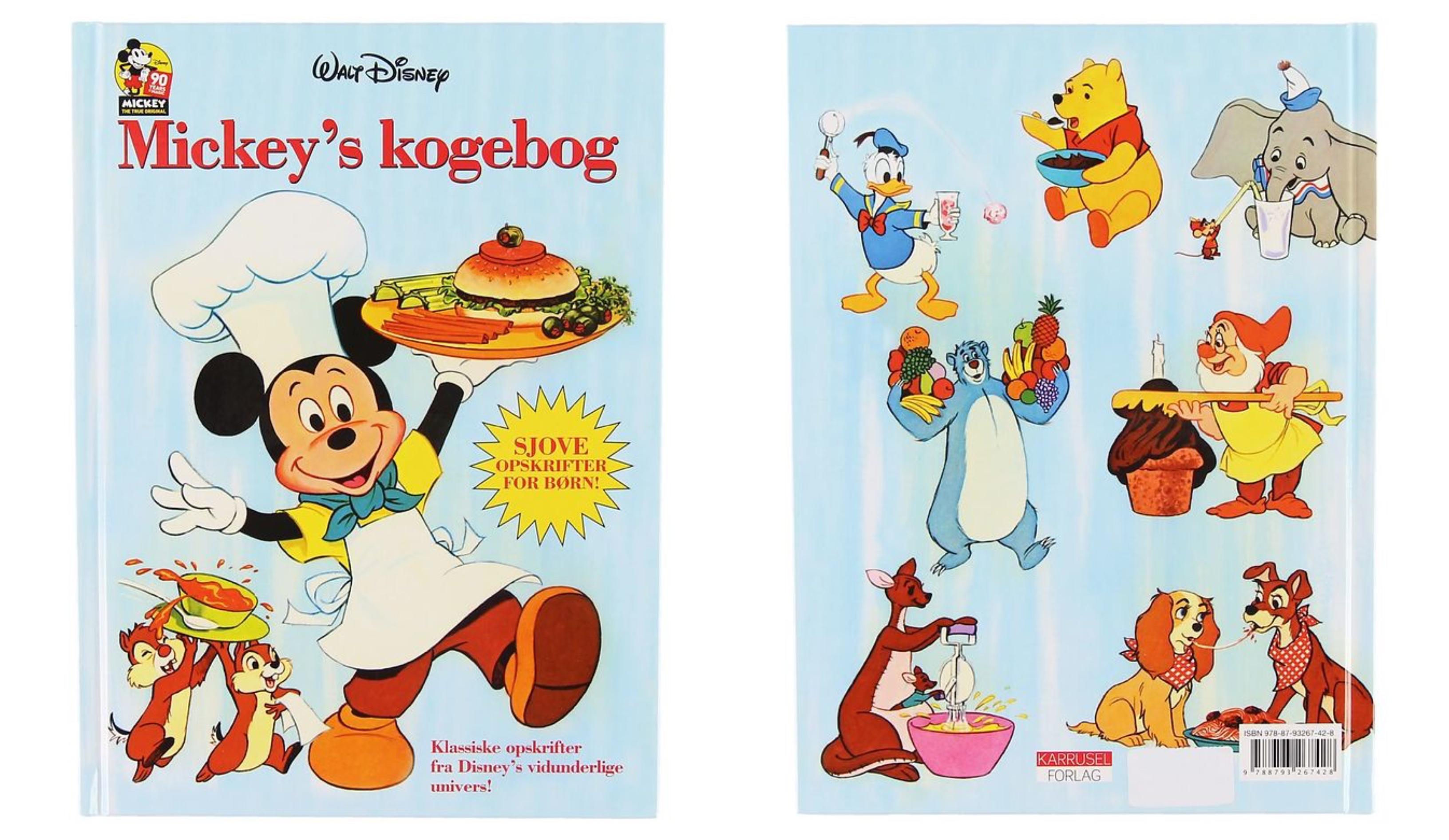 Mickey´s kogebog - Disney kogebøger til børn