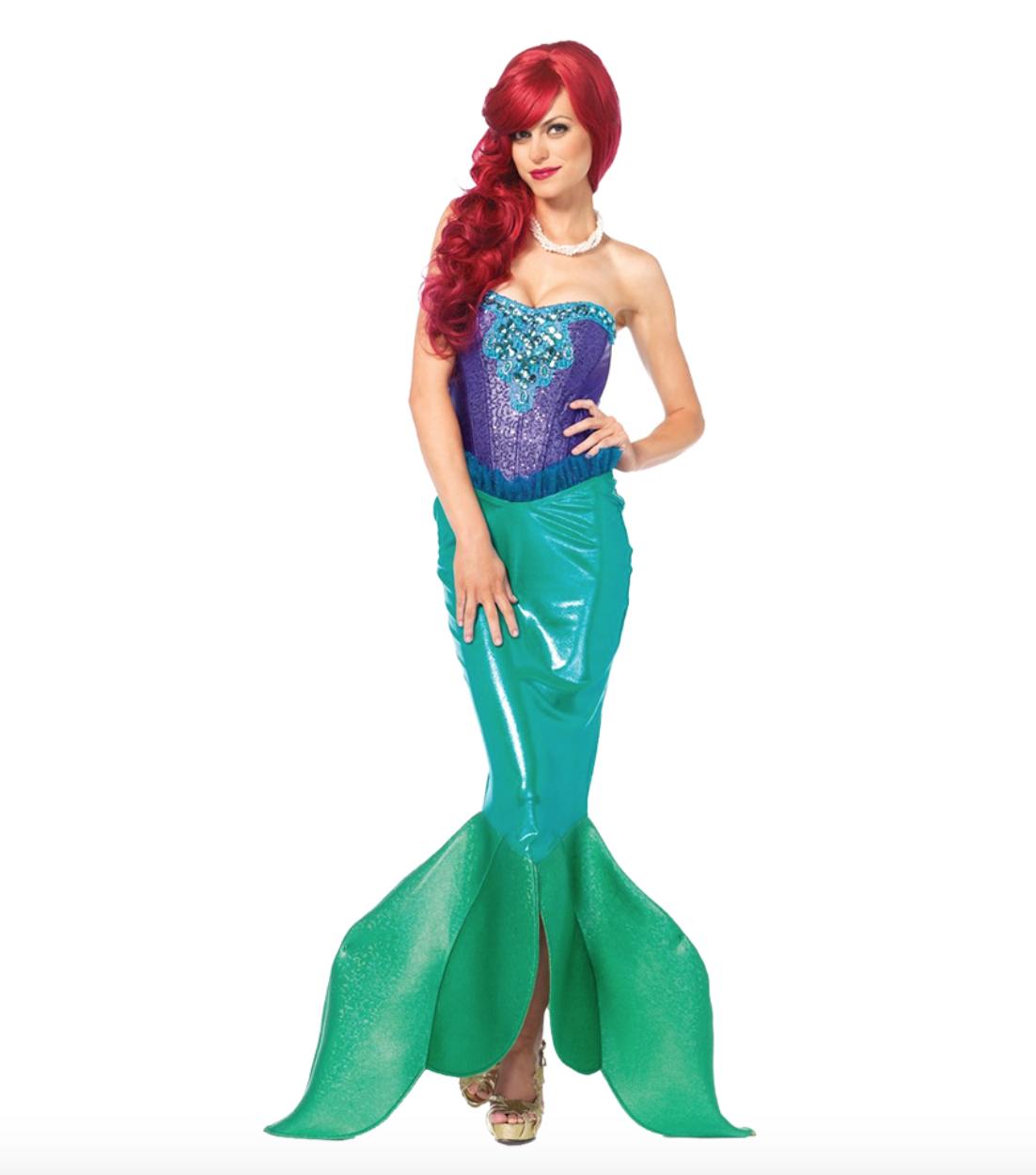 Skærmbillede 2018 12 10 kl. 23.56.39 - Ariel kostume til voksne