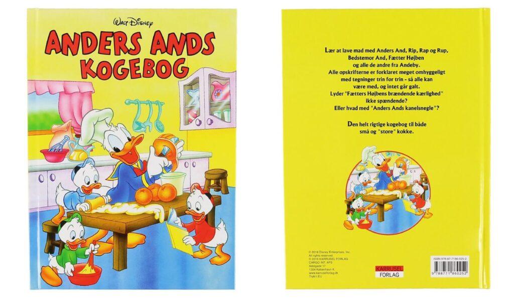 anders and kogebog 1024x594 - Disney kogebøger til børn
