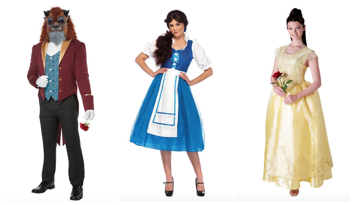 Belle kostume til voksne