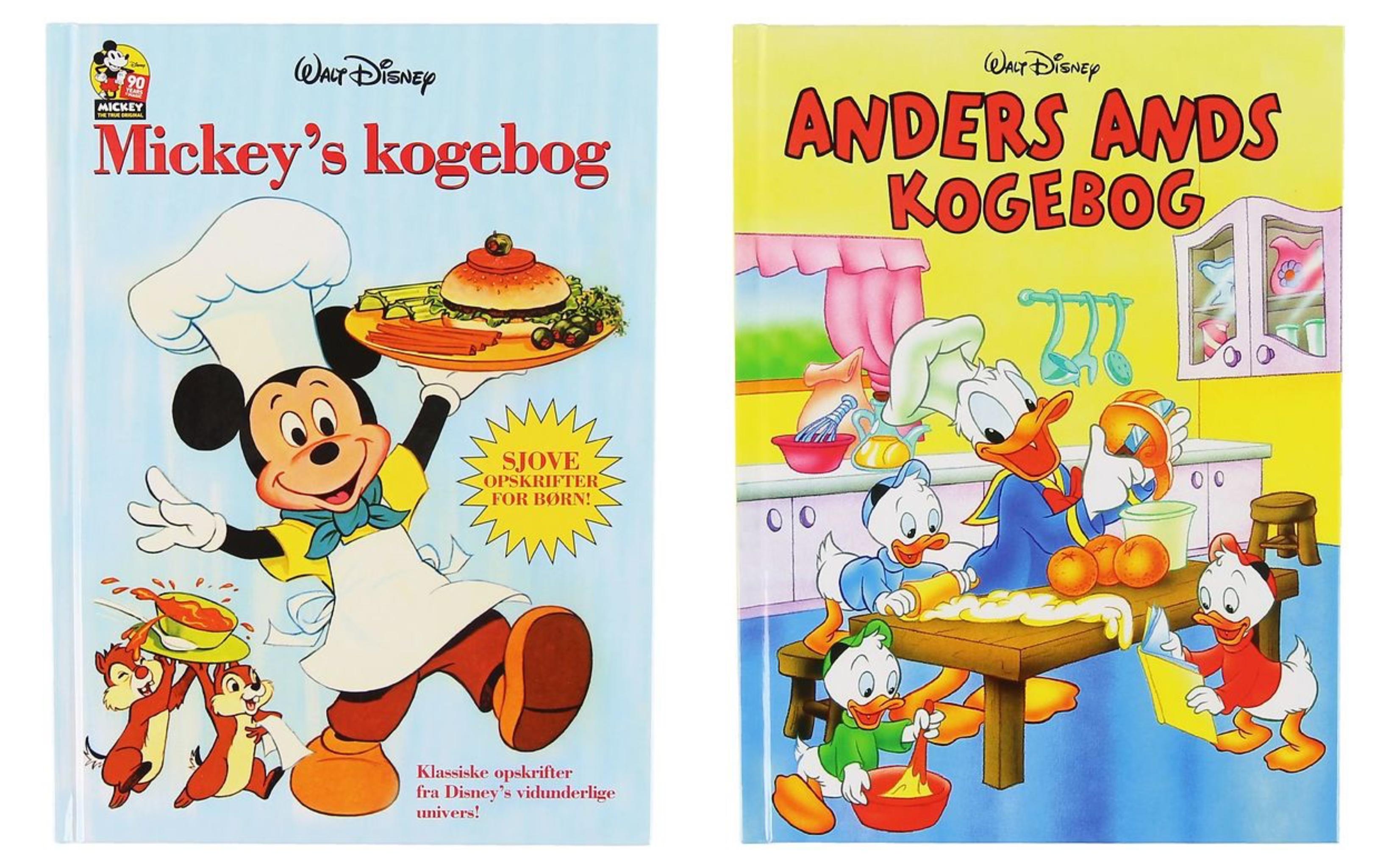 Disney kogebøger til børn