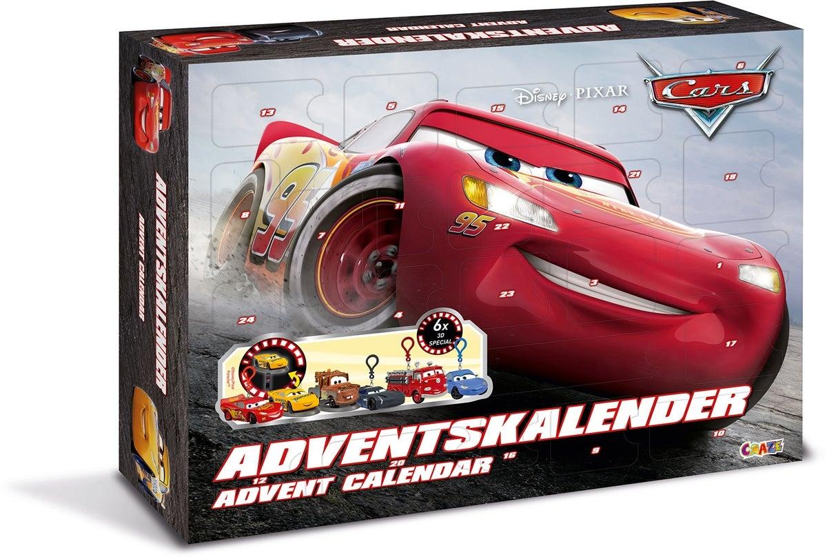 cars julekalender 2019 - Disney julekalender 2020