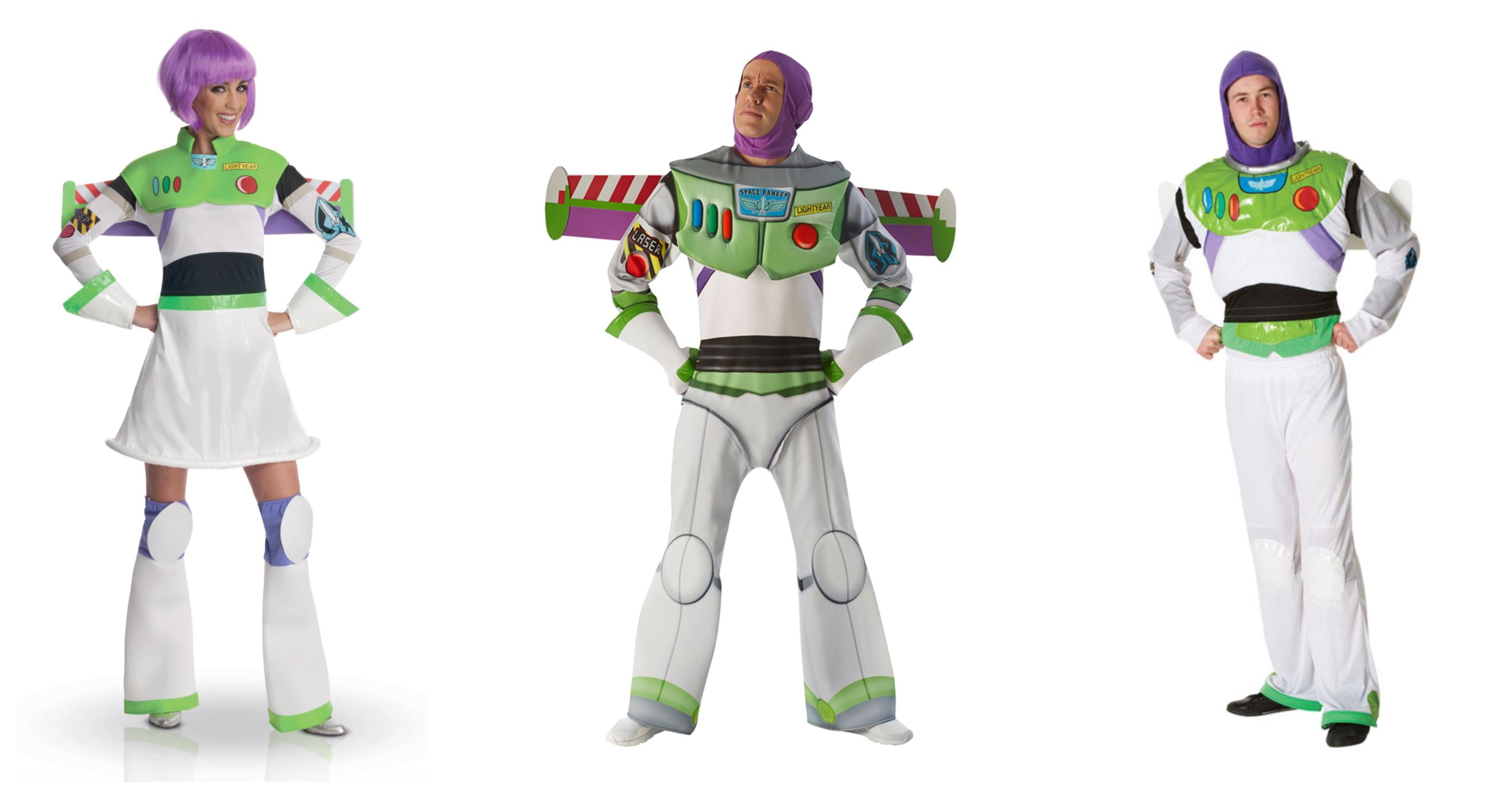 Buzz lightyear kostume til voksne - Toy Story kostume til voksne