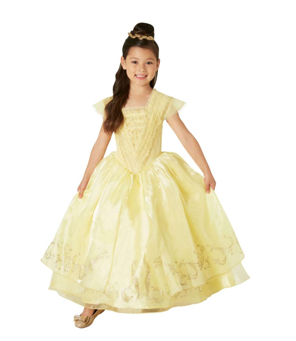 Disney prinsesse belle kostume - Disney prinsesse kostume til børn