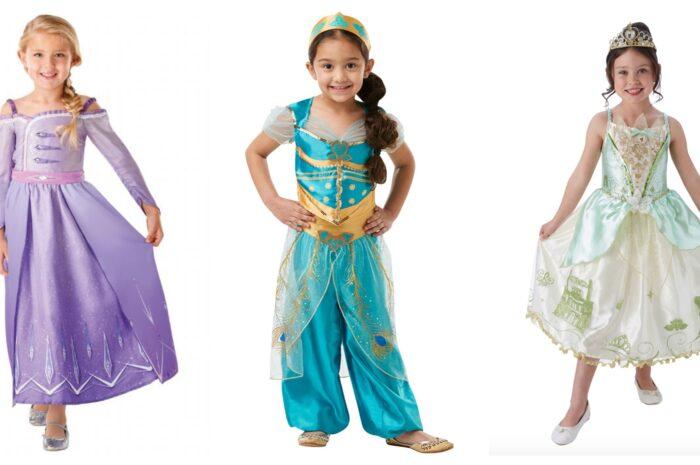 Disney prinsesse kostume til børn