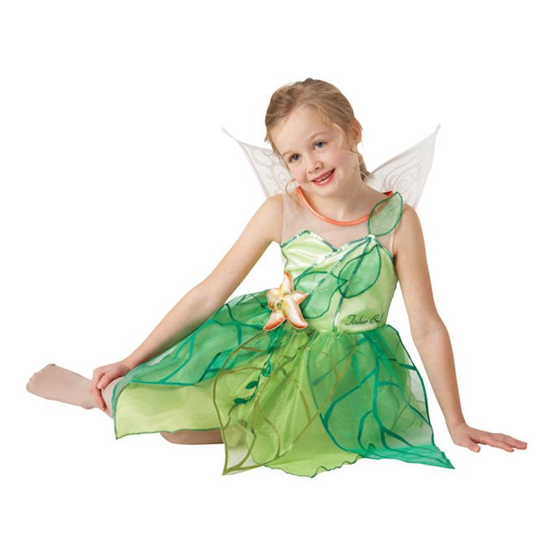 Fe børnekostume - Disney prinsesse kostume til børn