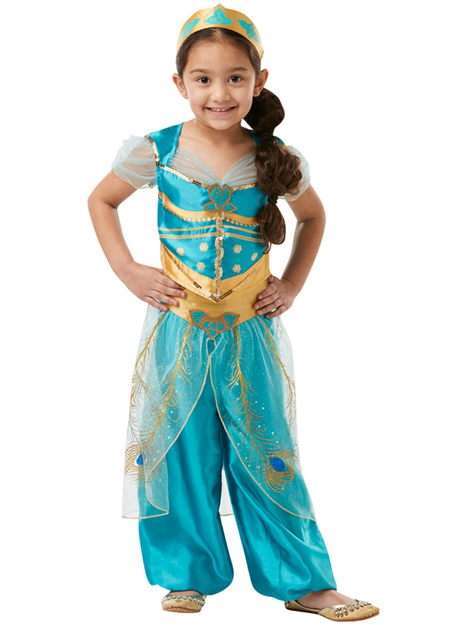 Prinsesse Jasmin børnekostume - Disney prinsesse kostume til børn
