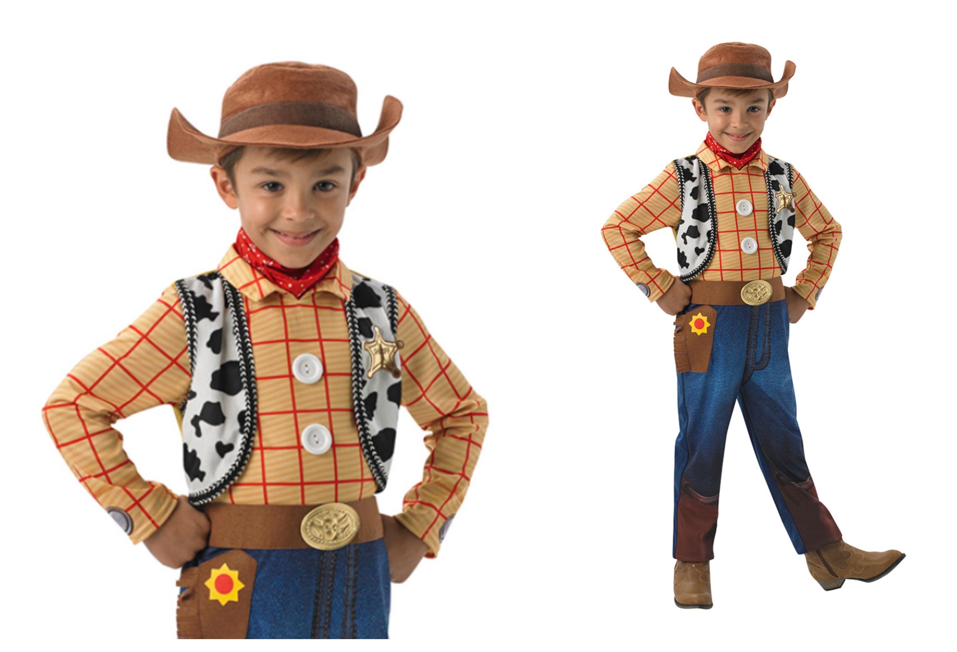 WOODY DELUXE BØRNEKOSTUME - Toy Story børnekostumer