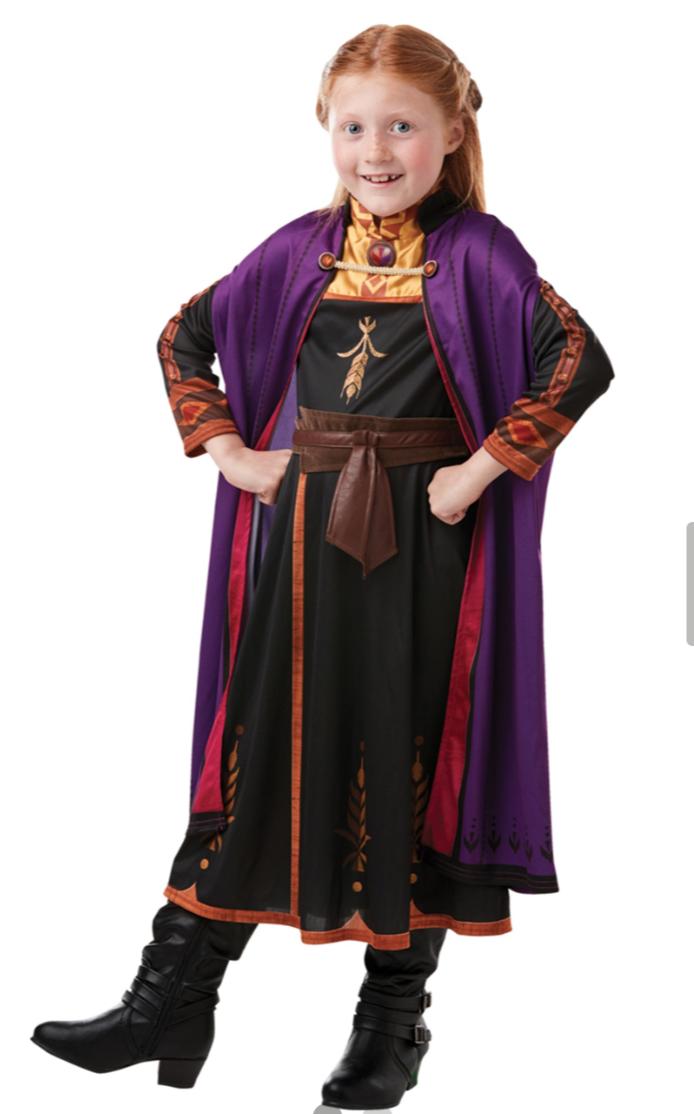 anna kostume fra frost 2 - Disney prinsesse kostume til børn