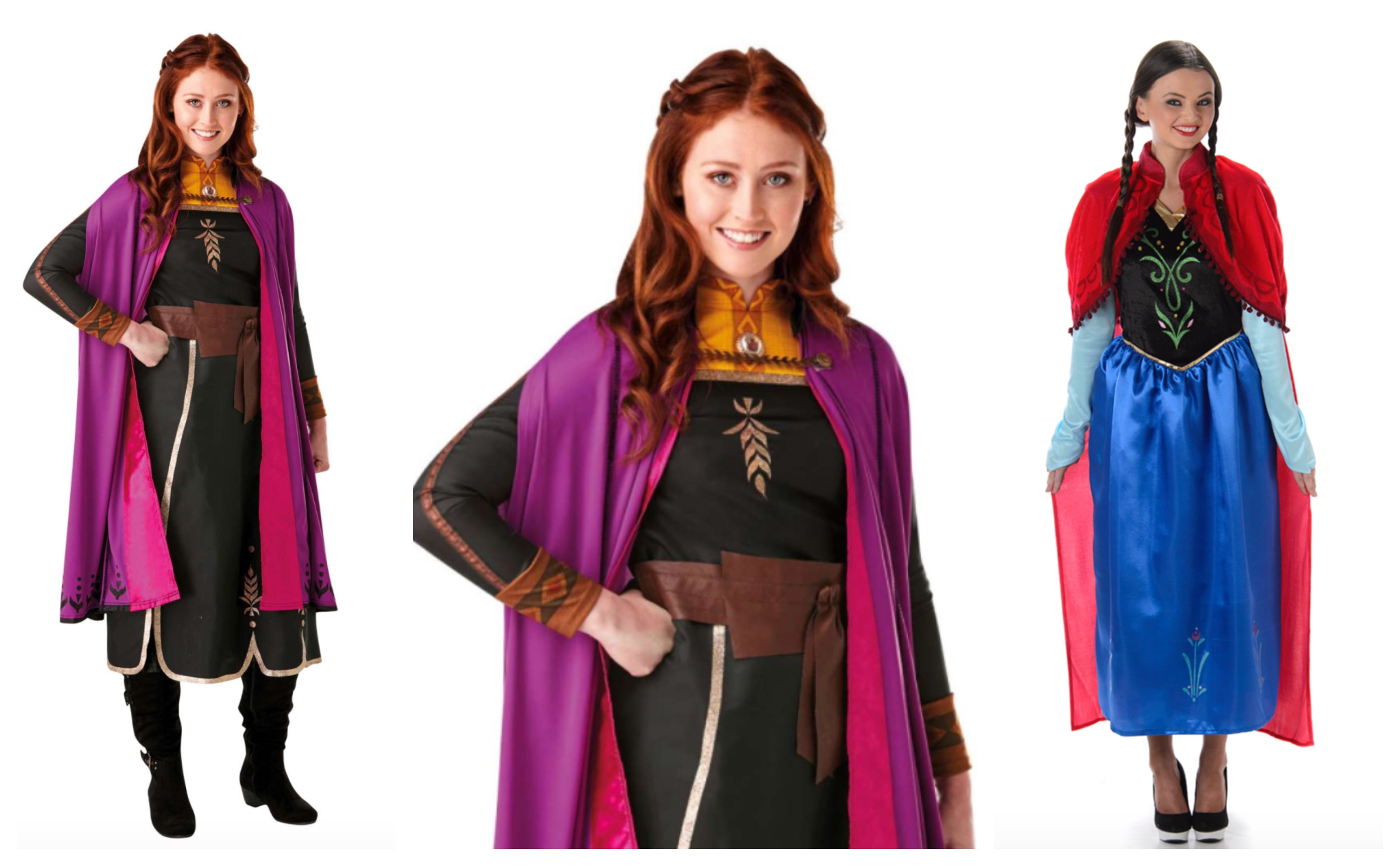 Anna kostume til voksne