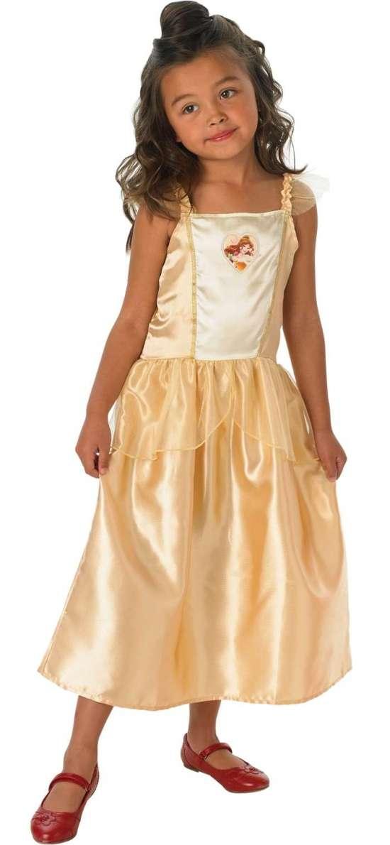 belle kostume til børn, belle udklædning til børn, belle kjole til børn, belle tøj til børn, belle børnekostumer, belle kostumer til børn, disney prinsesse kostume, disney kostumer, alletiders disney