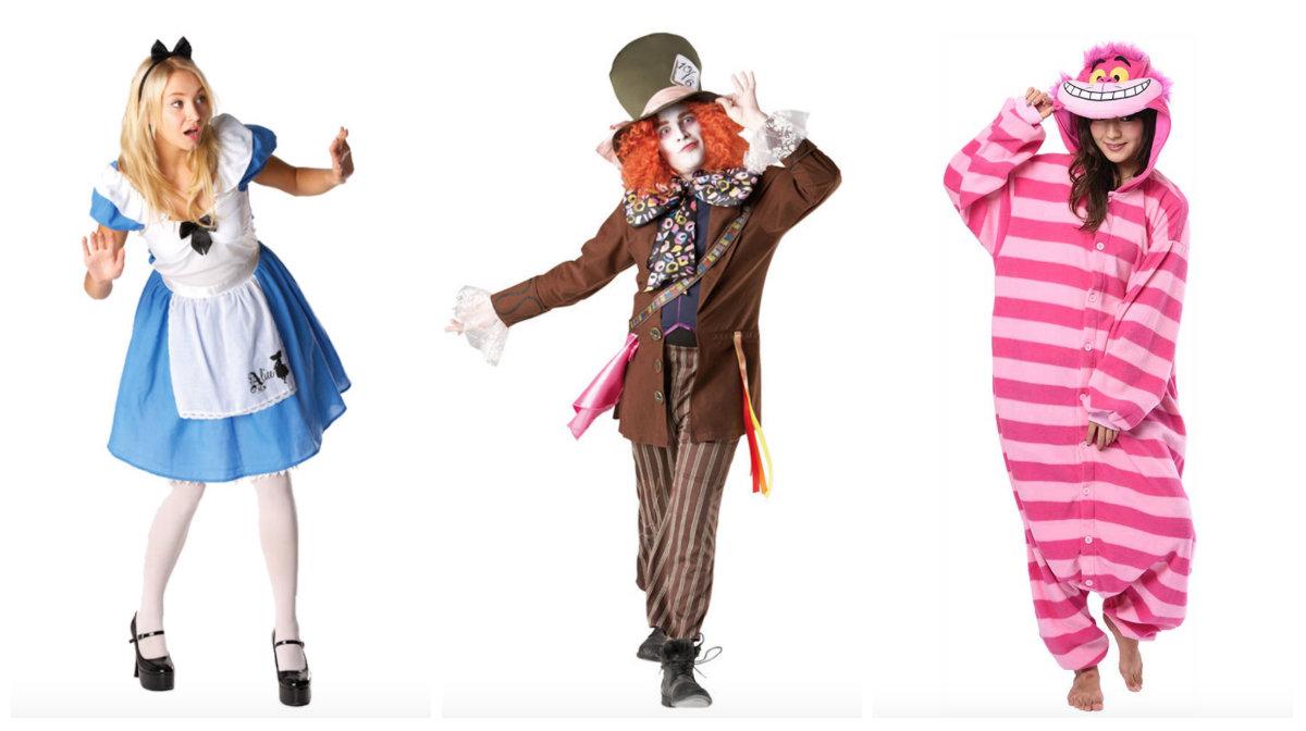 Alice i eventyrland kostume til voksne