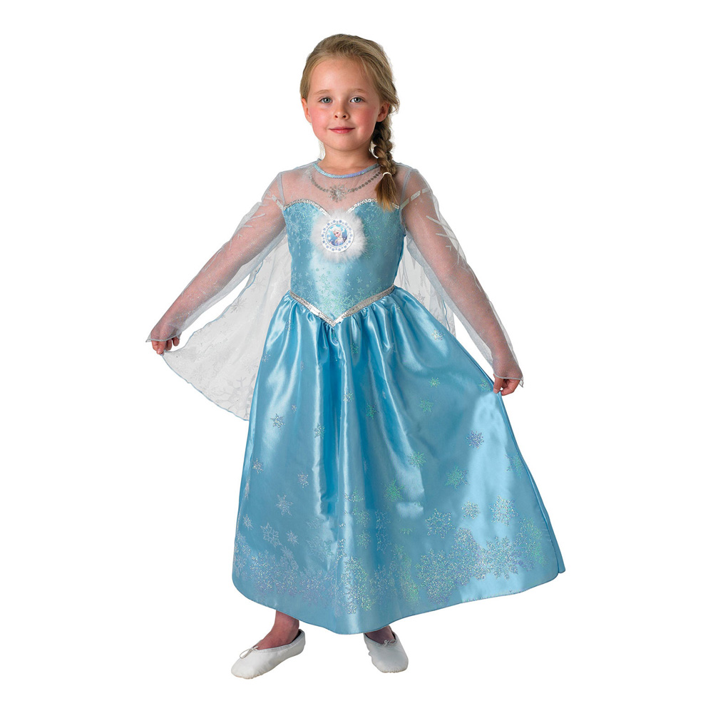elsa børnekostume - Disney prinsesse kostume til børn