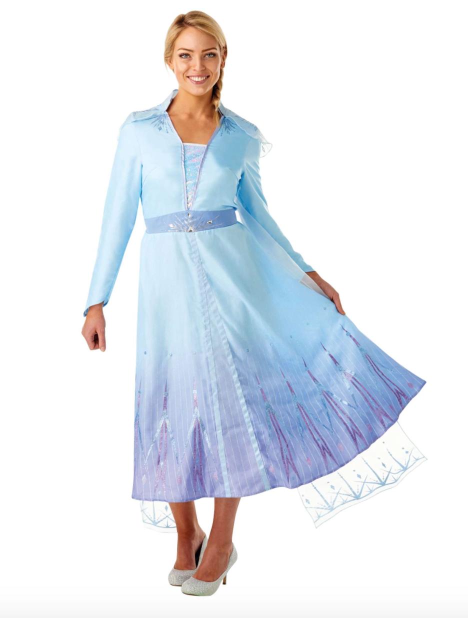 elsa kostume fra frost 2 - Disney kostume til voksne